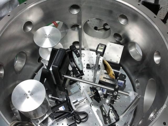 桌面超快激光等离子体X射线动态诊断装置-靶室实物图